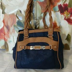 Rosetti navy blue shoulder bag
